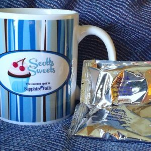 Sapphire Falls Mugs and coloring books!