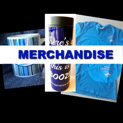 Sapphire Falls Merchandise