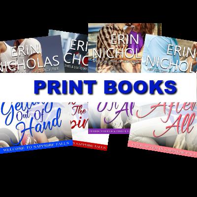 Sapphire Falls Print Books