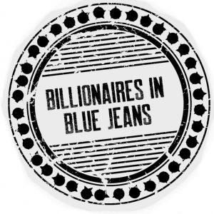 Billionaires in Blue Jeans books and merchandise